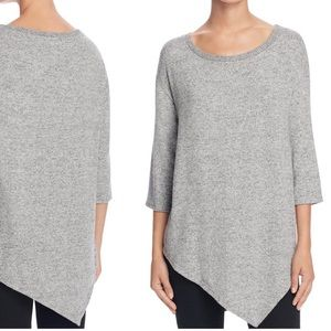 Soft Joie Tammy B Asymmetric 3/4 Sleeve Top L